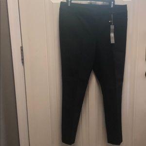 Loft Black ankle length pants. NWT
